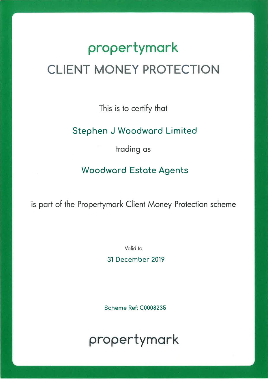 ARLA Client Money Protection Certificate 2019