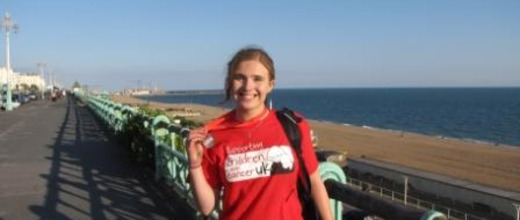 London to Brighton charity cycle Olivia Woodward