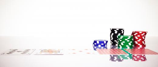 Lets Deal poker chips and cards