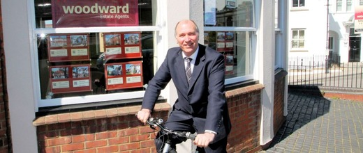 Stephen Woodward bicycle