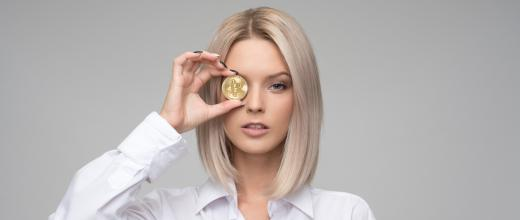 Woman with Gold Coin