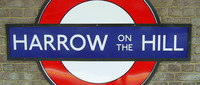 Harrow on the Hill Underground sign.jpg